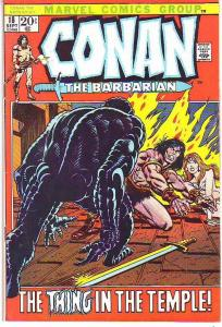 Conan the Barbarian #18 (Sep-72) FN Mid-Grade Conan the Barbarian