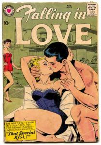 Falling in Love #28 1959- DC silver age romance comic G