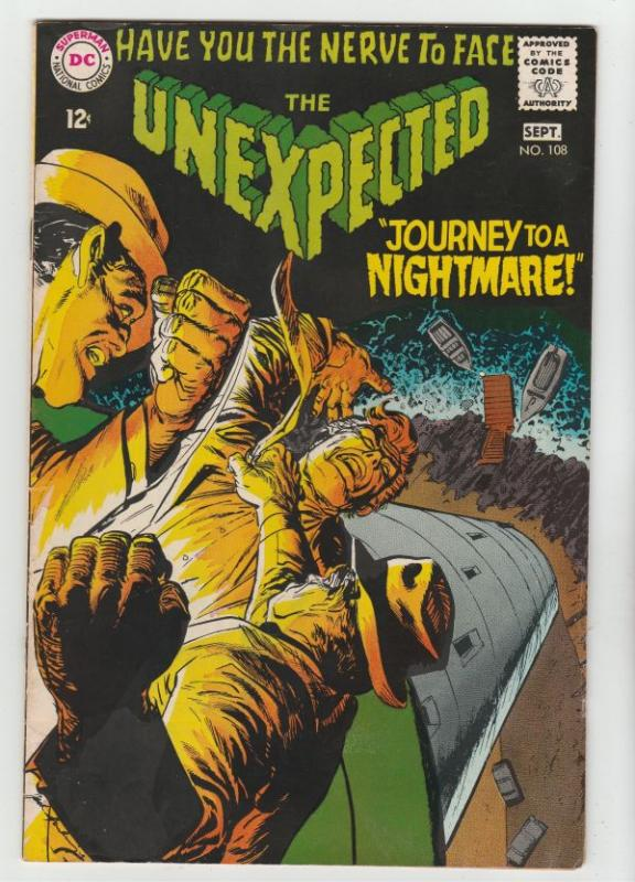 Unexpected, The #108 (Sep-68) VF/NM High-Grade