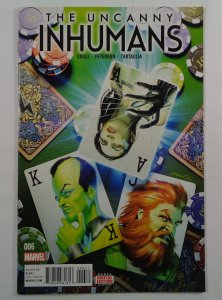 Uncanny Inhumans #6 NM-/NM Front/Back Cover Photos Marvel 2016
