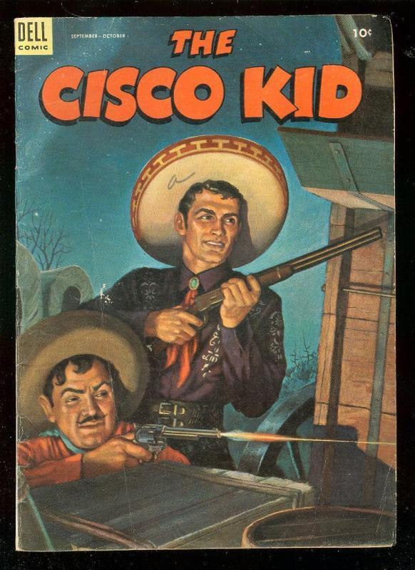 THE CISCO KID 17 1953 DELL COMICS WESTERN D RENALDO TV