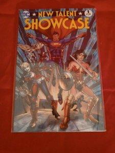 New Talent Showcase 2017 DC Comics Harley Quinn Wonder Woman Superman Hellblazer