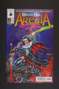 Warrior Nun Areala: Scorpio Rose #1 September 1996. Antarcti