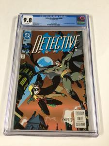 Detective Comics 648 Cgc 9.8 White Pages Dc Comics