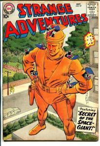 Strange Adventures #97 1958-DC-Secret ot The Space Giant-VG+