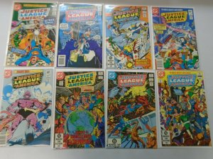 Justice League of America lot 16 different 60c covers from #201-220 (1982-83)