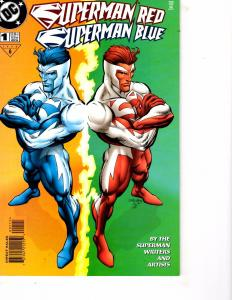 Lot Of 2 DC Comics Superman Red/Blue #1 and Black Orchid Book One JB4