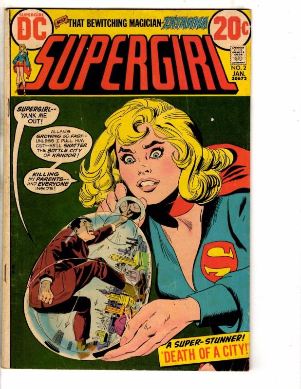 Supergirl # 2 VG/FN DC Comic Book Zatanna Superman Batman Flash Arrow Atom J272