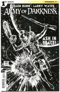 ARMY OF DARKNESS Ash in Space #1, VF/NM, Variant, Bruce Campbell, 2014