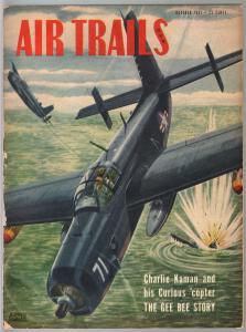Air Trails 10/1951-aviation news-pix-Grumman Guardian AF-25-Alfred Owles-VG