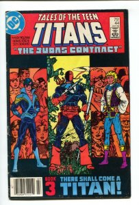 Tales Of The Teen Titans #44 1984 1st Nightwing-VG