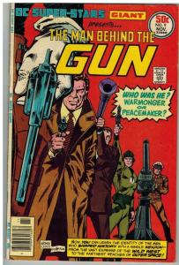DC SUPER STARS 9 VG-F Nov. 1976 THE MAN BEHIND THE GUN-