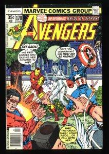 Avengers #170 FN/VF 7.0
