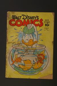 Walt Disney Comics and Stories #23 August 1942 Vol 2 No 11