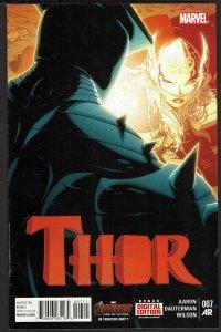 Thor #7 Female Thor (Jun 2015, Marvel)  9.2 NM-
