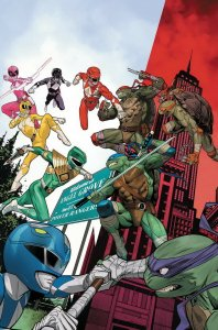 POWER RANGERS TEENAGE MUTANT NINJA TURTLES (2019 BOOM!) #2 All 6 PRESALE-01/08
