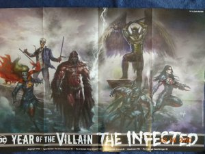 YEAR OF THE VILLIAN THE INFECTED Promo Poster, SuperGirl 24 x 36, 2019, DC 555