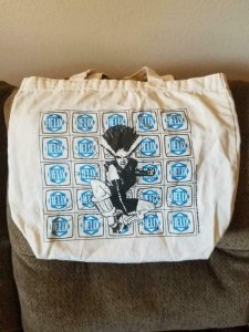 HELIX / DC BAG, Tote, 14x14, San Diego Comic Convention, 1996, SDCC Expo