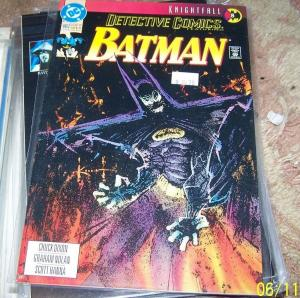 DETECTIVE COMICS  # 662 BATMAN  KNIGHTFALL PT 8  DC PRE NEW 52 FIREFLY GOTHAM TV