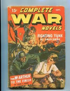 COMPLETE WAR PULP-#1-SEPT-1942-SAUNDERS ART-TIMELY/MARV VG