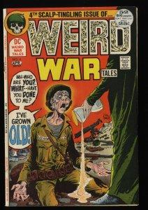 Weird War Tales #4 VF- 7.5