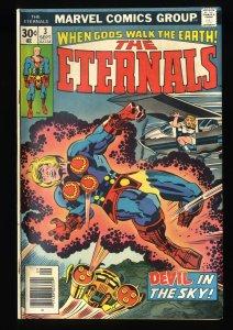 Eternals #3 VG+ 4.5 1st Sersi!