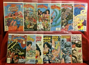 Wonder Woman Lot of 13 Comics From Seasons 1&2 and Wonder Woman DVD