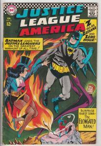 Justice League of America #51 (Feb-67) FN Mid-Grade Justice League of America...