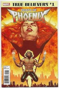 True Believers Death of Phoenix #1 (Marvel, 2018) NM