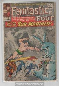 FANTASTIC FOUR (1961 MARVEL) #33 GOOD+ A04202