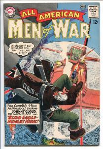 ALL-AMERICAN MEN OF WAR #102-1964-DC-JOE KUBERT-NAVAJO ACE-JOHNNY CLOUD-vf