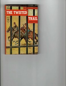 3 Books The Twisted Trail The Singing Scorpion Seven Trails Mystery Western JK11