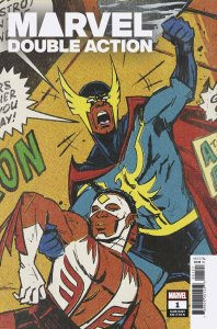 HEROES REBORN: MARVEL DOUBLE ACTION #1 WU VAR - MARVEL COMICS - AUGUST 2021
