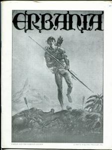 Erbania #44 1979 -Edgar Rice Burroughs-Tarzan-J C Burroughs-info-pix- FN/VF