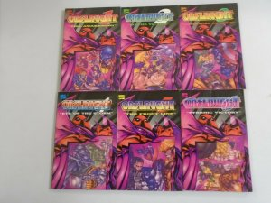 Onslaught TPB Set #1-6 8.0 VF (except #6 for free) (1996)