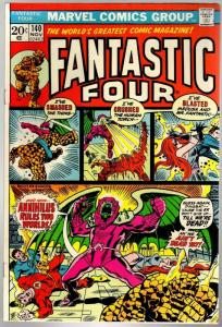 FANTASTIC FOUR 140 VG-F Nov. 1973
