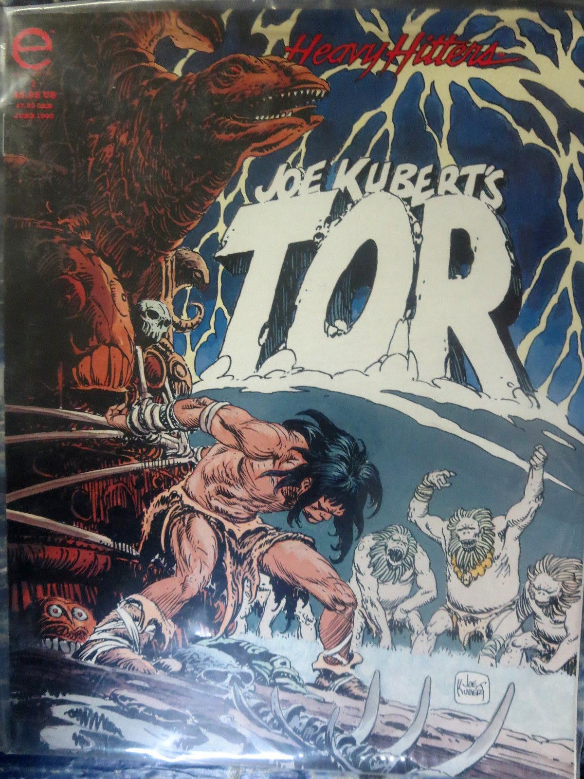 Joe Kubert/'s Tor U-PICK ONE #1 or 4 Epic Magazines PRICED PER COMIC