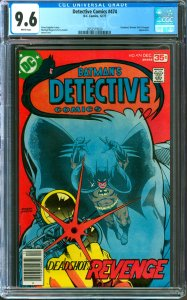 Detective Comics #474 CGC Graded 9.6 Deadshot, Woner Girl & Penguin