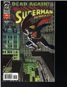 Superman: Man of Steel #39 (DC, 1994)