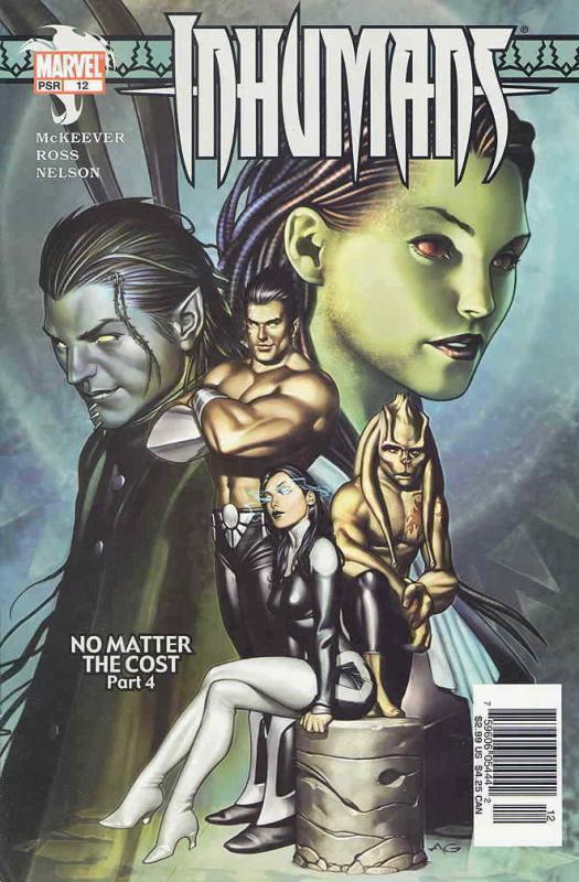 Inhumans (Vol. 6) #12 VF/NM; Marvel | save on shipping - details inside