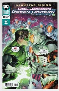 HAL JORDAN AND THE GREEN LANTERN CORPS (2016 DC) #44 NM- A98074