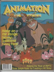 ANIMATION MAGAZINE #v18 #3 VF+ A05287