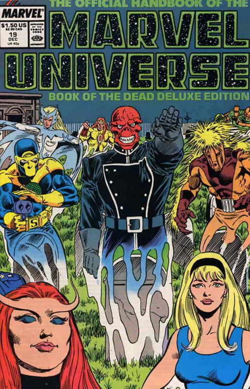 Official Handbook of the Marvel Universe (Vol. 2) #19 VF/NM; Marvel | save on sh