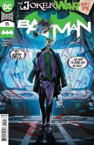 BATMAN #95 COVER A JOKER WAR BEGINS! PRESELL SHIPS ON 7/21/20