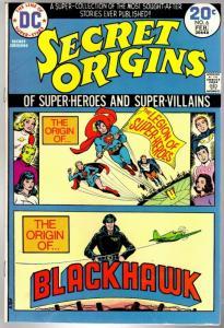 SECRET ORIGINS (1973) 6 VG-F  Feb. 1974