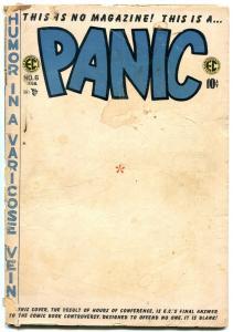 PANIC #6 1955-EC COMICS-HUMOR-GOLDEN AGE WOOD DAVIS ART FR