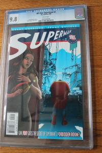 All-Star Superman #2 (DC, 2006) CGC NM/MT 9.8 White pages