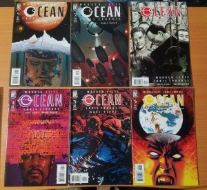 OCEAN 1-6 Complete Set Run ~ NEAR MINT NM ~ 2004 Wildstorm Comics