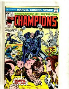 Lot of 6 The Champions Marvel Comic Books #2 3 4 5 6 7 GK18