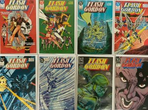 Flash Gordon set:#1-9 8.0 VF (1988)